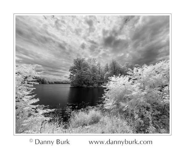 Infrared: Worster Lake, Potato Creek State Park, Indiana