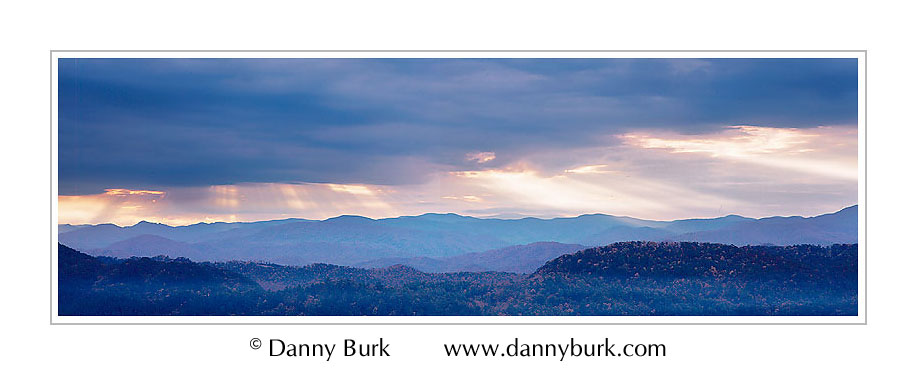 Picture: Sunrise, Foothills Parkway, Great Smoky Mountains National Park, Tennessee