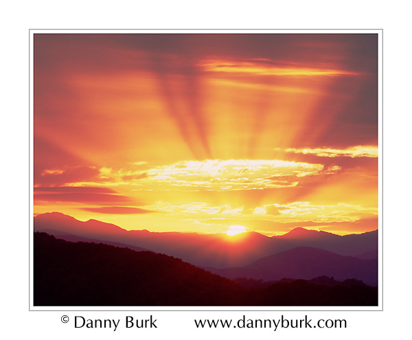 Picture: Sunrise, Foothills Parkway, Great Smoky Mountains National Park
