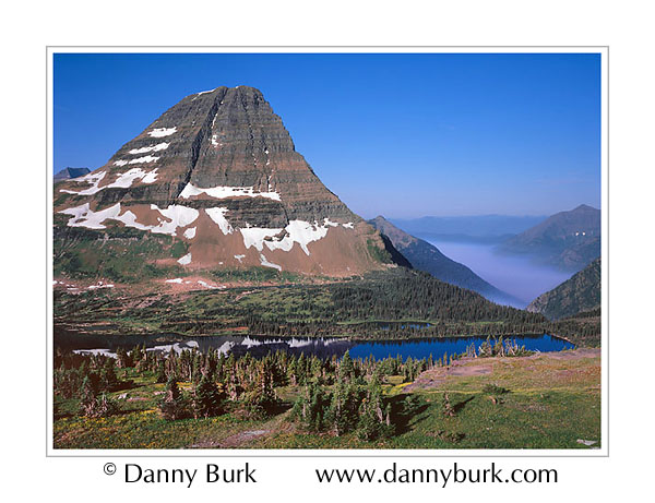 Picture: Bearhat Mountain and Hidden Lake, Glacier National Park, Montana