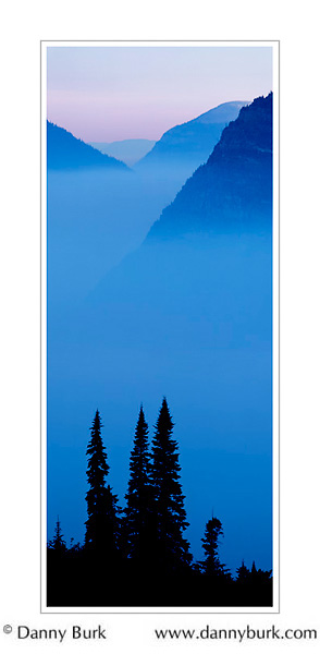 "Picture: ""Oriental"" panorama, Dawn, Glacier National Park, Montana"