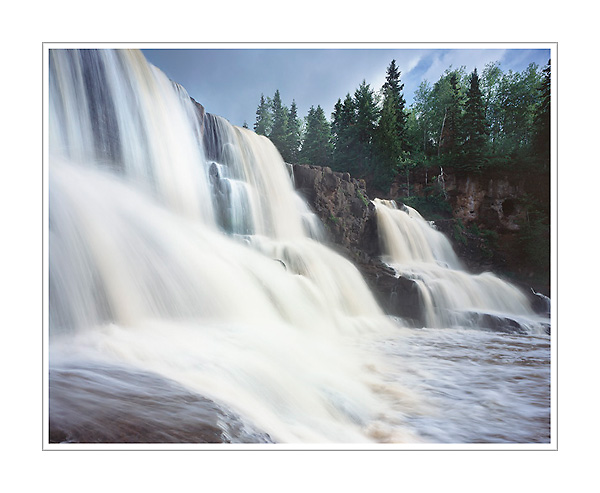 Picture: Gooseberry Falls, Gooseberry Falls State Park, North Shore of Minnesota