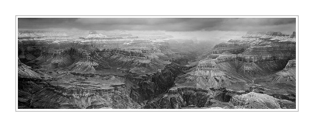 Picture: Snowstorm, Mather Point, Grand Canyon National Park, Arizona
