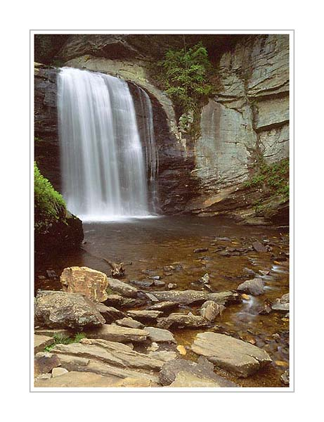 Picture: Looking Glass Falls, Brevard, North Carolina