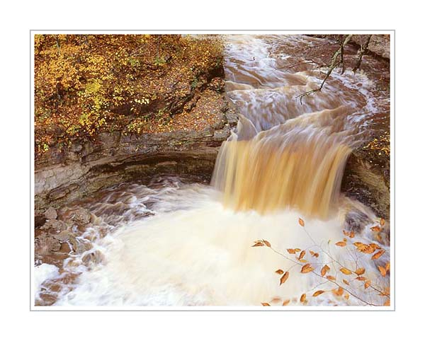 Picture: Waterfall, McCormack's Creek State Park, Indiana