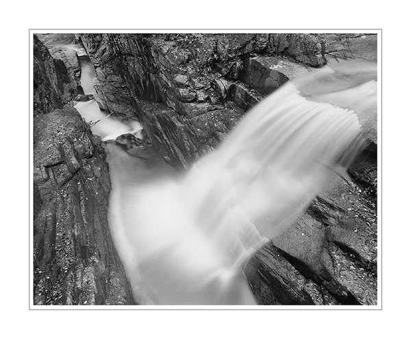 Picture: Sabbaday Falls, along Kancamagus Highway, New Hampshire