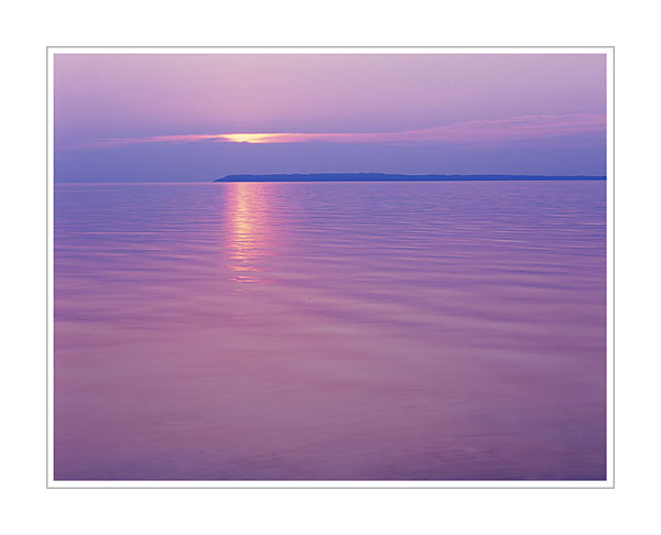 Picture: Sunset, Sleeping Bear Dunes National Lakeshore, Michigan