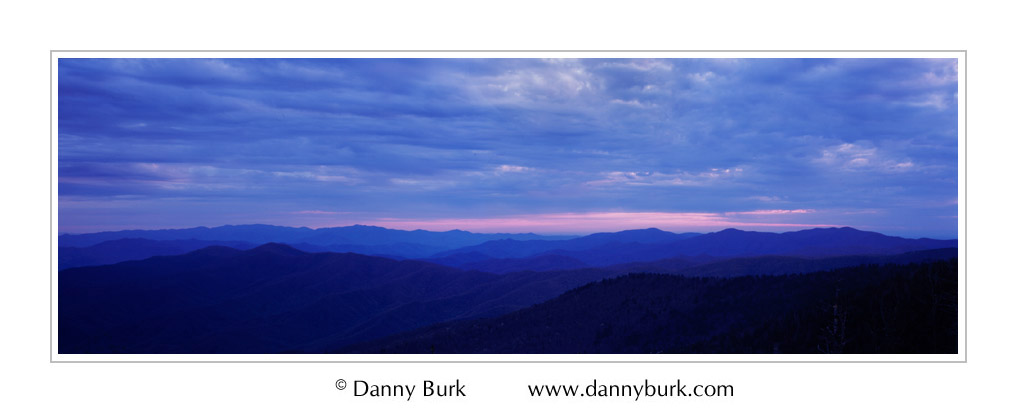 Picture: Dawn, Clingman's Dome, Great Smoky Mountains National Park, Tennessee