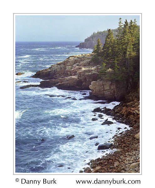 Picture: Monument Cove at high tide, Acadia National Park, Maine