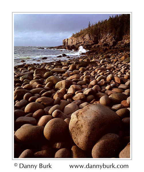 Picture: Dawn, Boulder Beach at Otter Cliffs, Acadia National Park, Maine