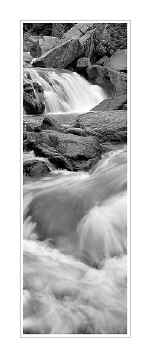 Picture: Falls on the Beaver River, North Shore of Minnesota