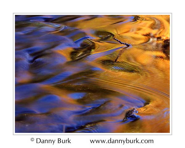 Picture: Ripples in spillover, Council Lake, south of Munising, Upper Peninsula, Michigan