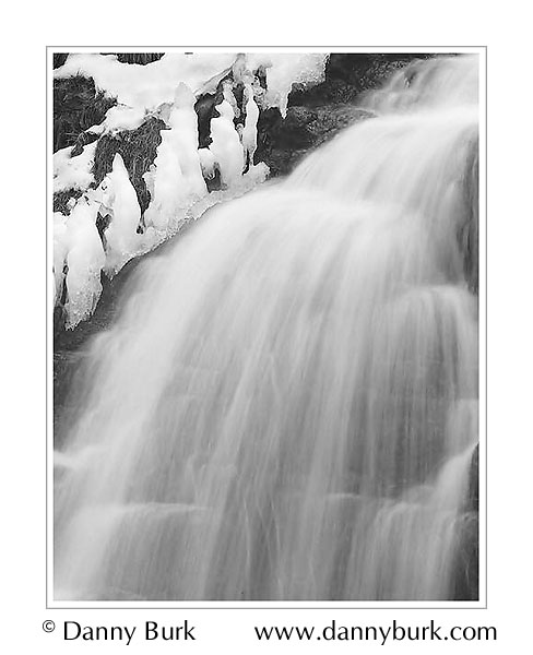 Picture: Ice, France Park Falls, Logansport, Indiana