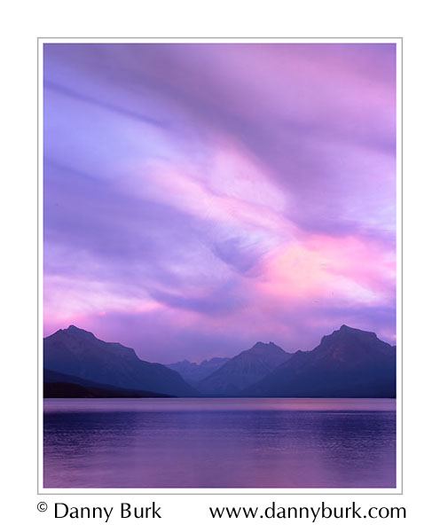 Picture: Lake Macdonald from Apgar, Glacier National Park, Montana