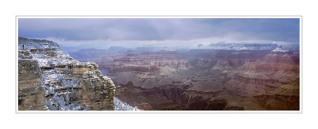Picture: Snowstorm Panorama, Mather Point, Grand Canyon National Park, Arizona