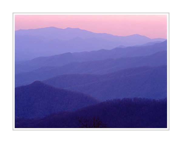 Picture: Lickstone Overlook, Blue Ridge Parkway, North Carolina