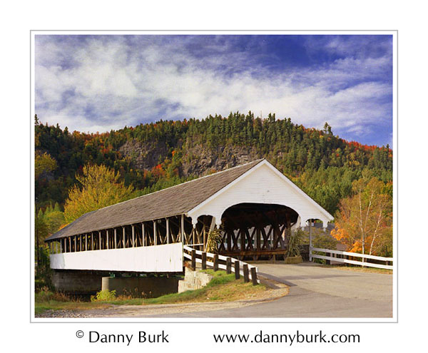 Picture: Covered Bridge, Stark, New Hampshire