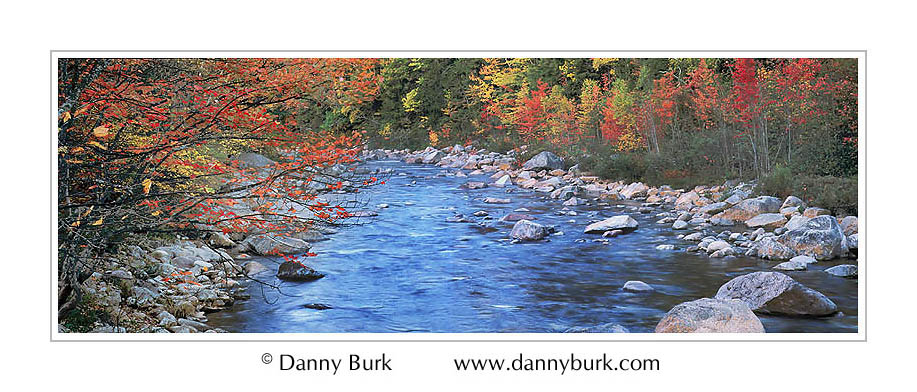 Picture: Fall color, Swift River, Kancamagus Highway, New Hampshire