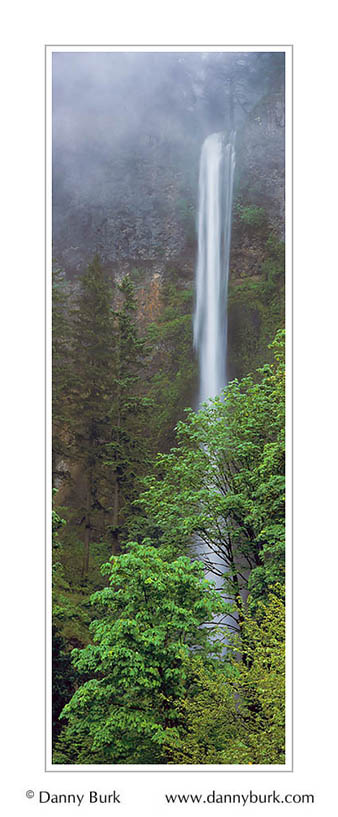 Picture: Multnomah Falls, Columbia River Gorge, Oregon - Panorama