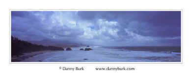 Picture: Storm clouds, Cannon Beach, Oregon