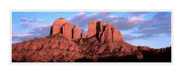Picture: Cathedral Rocks panorama, Oak Creek Canyon, Sedona, Arizona