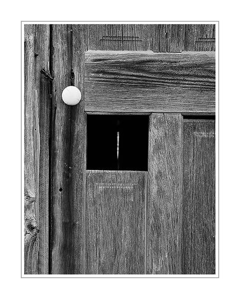 Picture: Door, abandoned farmhouse, Sleeping Bear Dunes National Lakeshore, Michigan