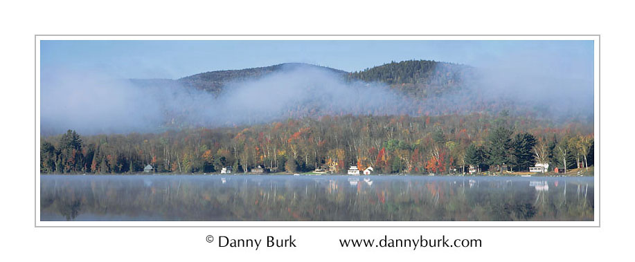 Picture: Morning mist, Lake Groton, Vermont