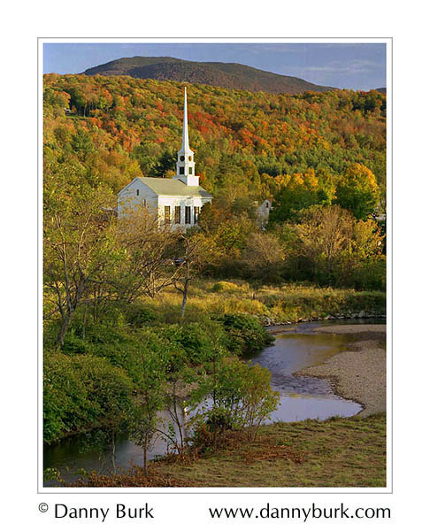Picture: Church at Stowe, Vermont