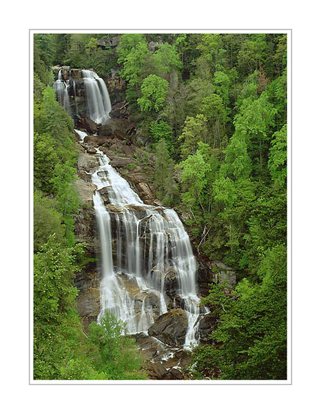 Picture: Whitewater Falls, Sapphire, North Carolina
