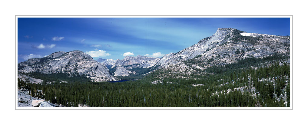 Picture: Tenaya Lake and the Sierra, Yosemite National Park, California